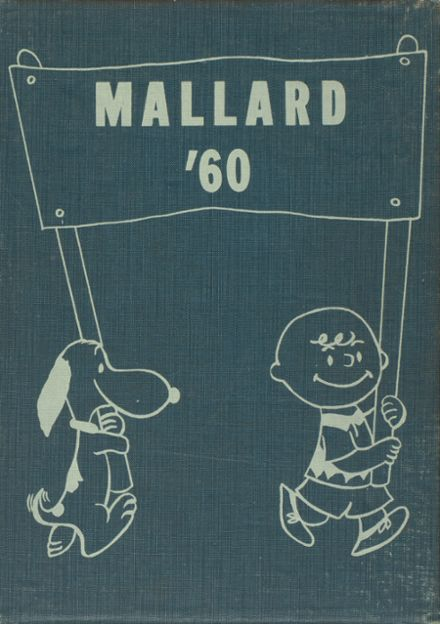 1960 Wheaton High School Yearbook Cover
