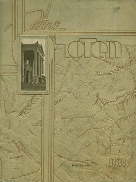 1937 South Side High School Yearbook Cover
