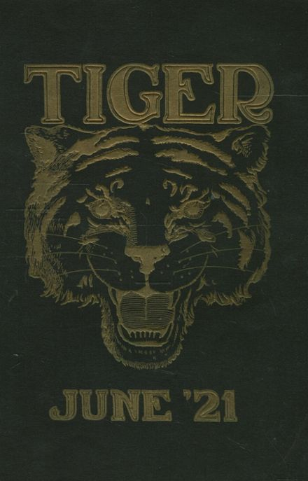 1921 Lewis & Clark High School Yearbook Cover