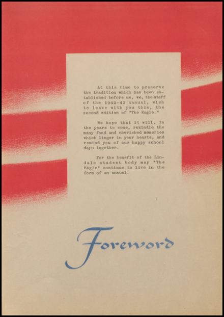 1943 Lindale High School Yearbook Page 9