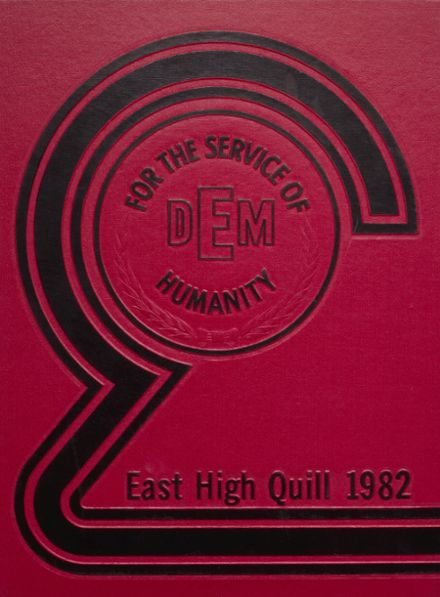 1982 East High School Yearbook Cover