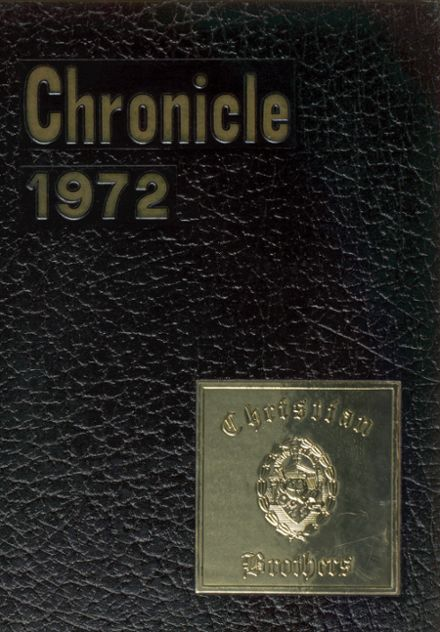 1972 Christian Brothers High School Yearbook Cover