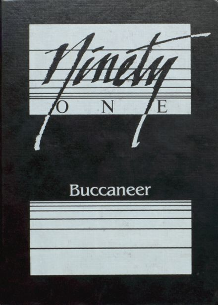 1991 Covington High School Yearbook Cover