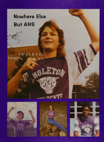 1978 Angleton High School Yearbook Cover