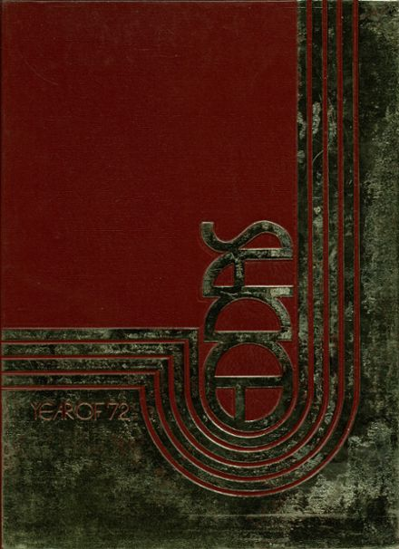 1972 Viewmont High School Yearbook Cover