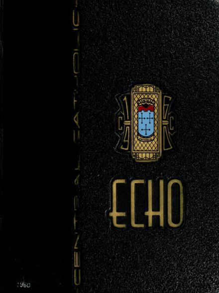 1960 Central Catholic High School Yearbook Cover