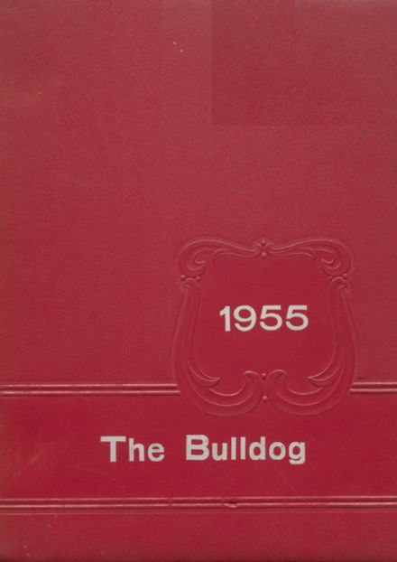 1955 Clayton High School Yearbook Cover