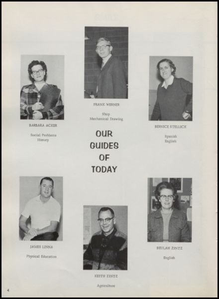 1967 Rib Lake High School Yearbook Page 8