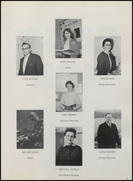 1967 Rib Lake High School Yearbook Page 9