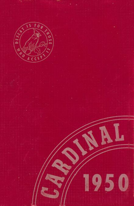 1950 Coldwater High School Yearbook Cover