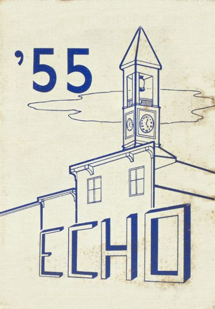 1955 Bainbridge-Guilford High School Yearbook Cover
