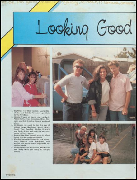 1987 Estancia High School Yearbook Page 6