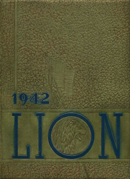 1942 Leo High School Yearbook Page 1