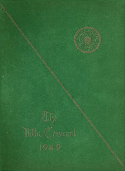 1949 Villa De Chantal High School Yearbook Cover