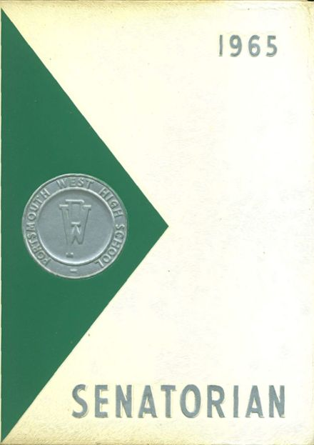 1965 Portsmouth West High School Yearbook Cover