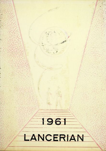 1961 Lancaster High School Yearbook Cover