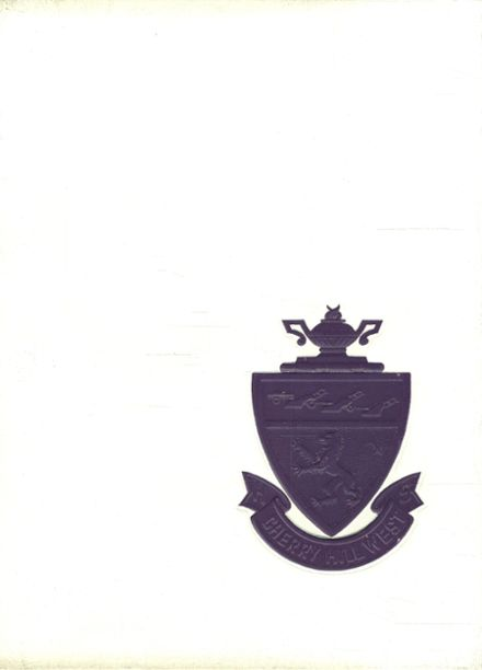1967 Cherry Hill West High School Yearbook Cover