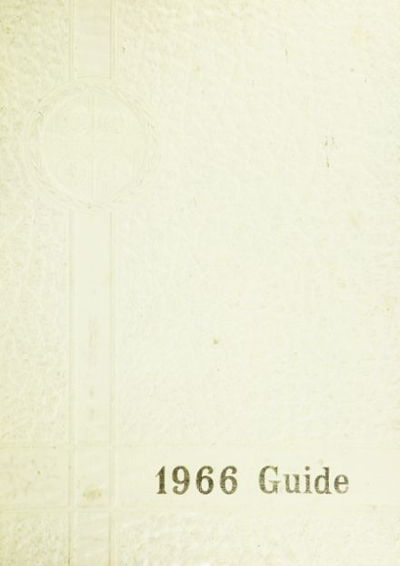 1966 Clearview High School Yearbook Cover