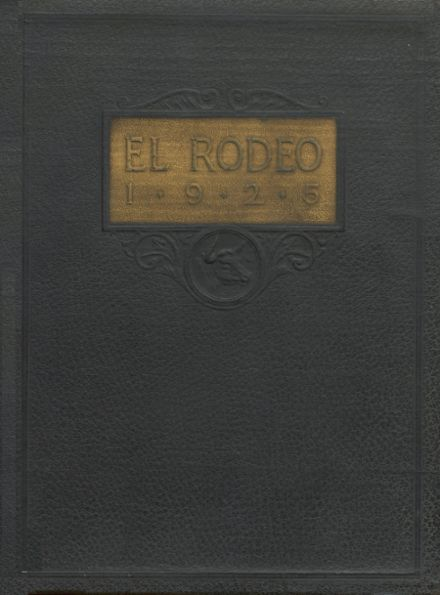1925 Big Spring High School Yearbook Cover