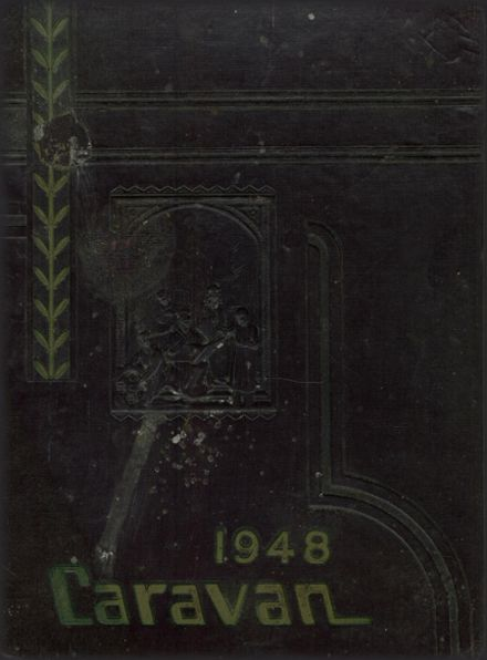 1948 Campbell County High School Yearbook Cover