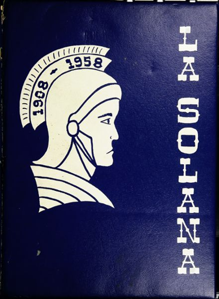 1958 Central Union High School Yearbook Cover