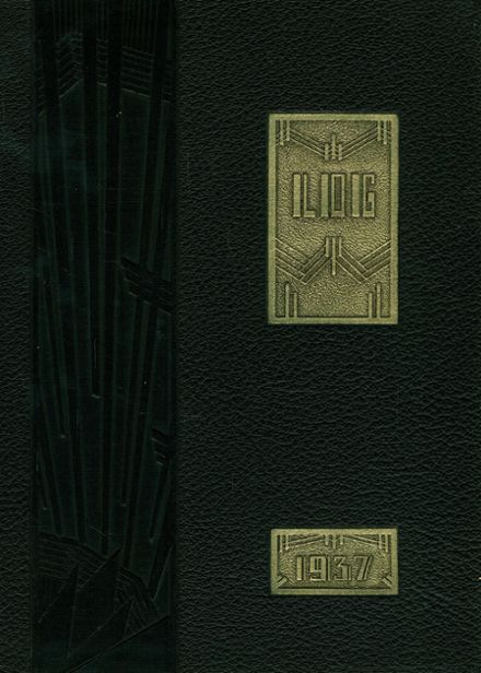 1937 Melrose High School Yearbook Cover