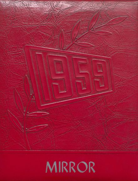 1959 Melvin-Sibley High School Yearbook Cover