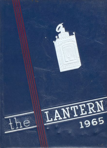 1965 Revere High School Yearbook Cover