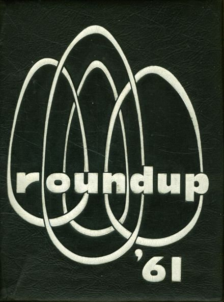 1961 Costa Mesa High School Yearbook Cover