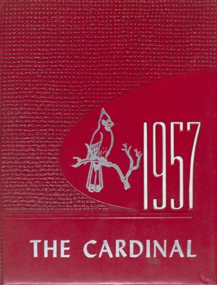 1957 W. S. Creecy High School Yearbook Cover
