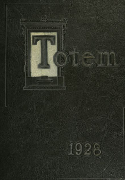 1928 South Side High School Yearbook Cover
