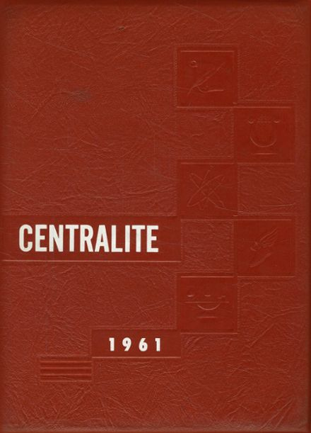 1961 Red Creek Central High School Yearbook Cover