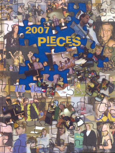 2007 Wahoo High School Yearbook Cover