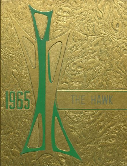 1965 Woodward Community High School Yearbook Cover
