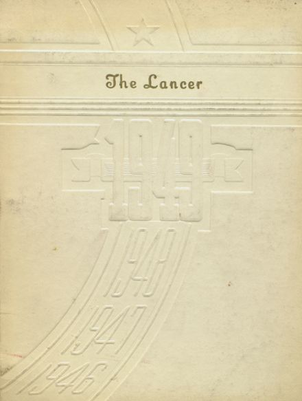 1949 Canby High School Yearbook Cover