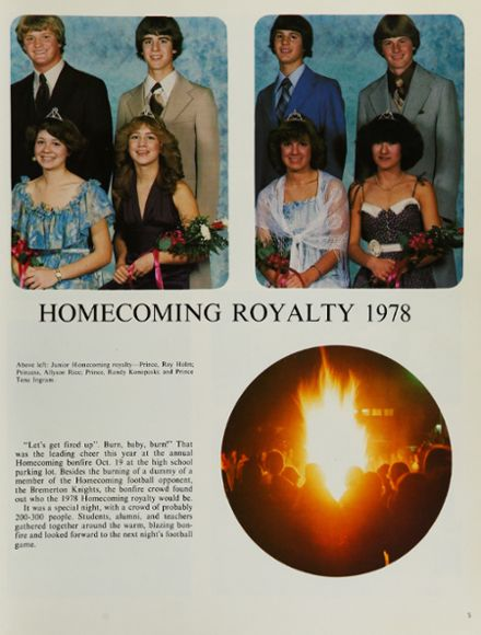1979 Port Angeles High School Yearbook Page 9