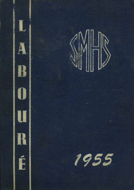 1955 St. Martin's High School Yearbook Cover