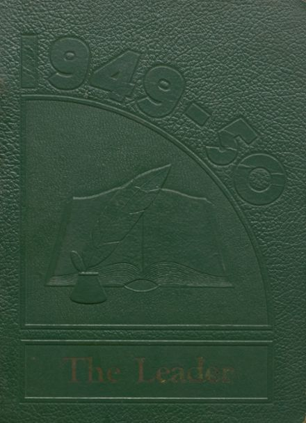 1950 Cunningham High School Yearbook Cover
