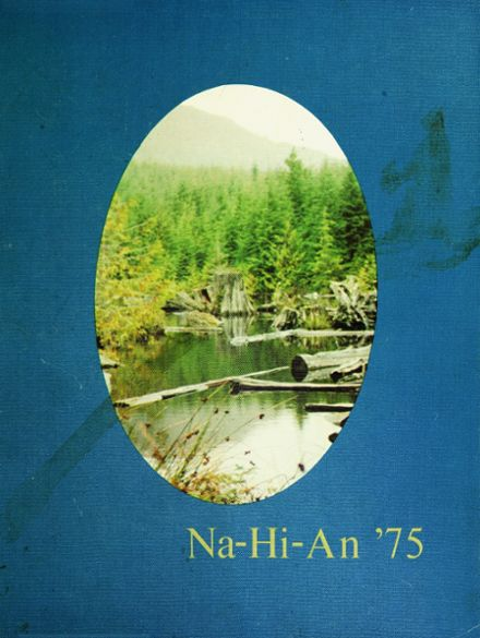 1975 Naselle-Grays River Valley High School Yearbook Cover