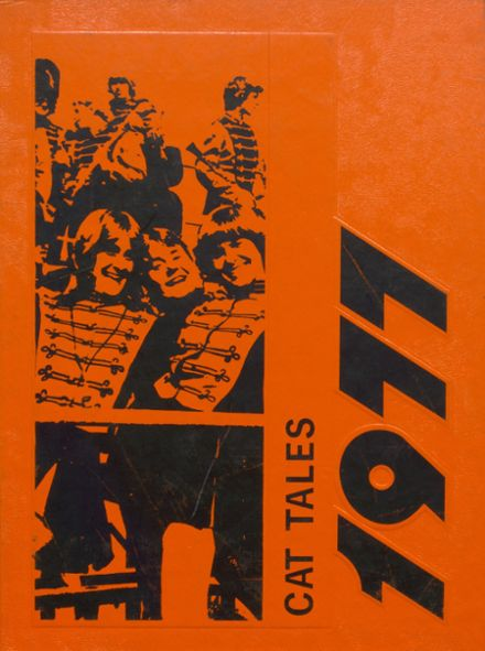 1977 North Union High School Yearbook Cover