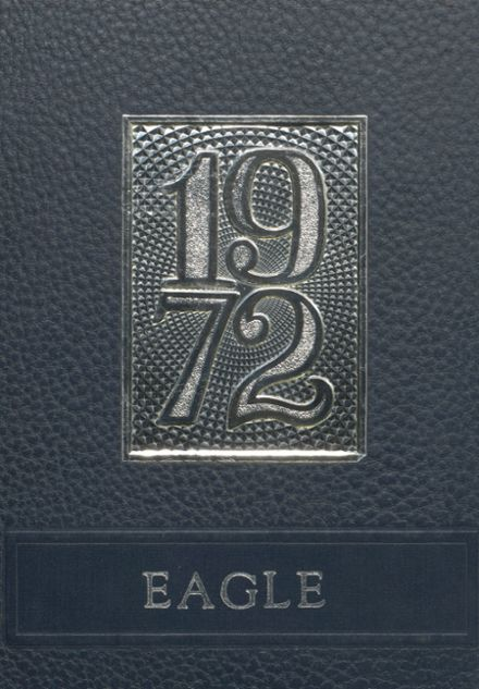 1972 Eva High School Yearbook Cover