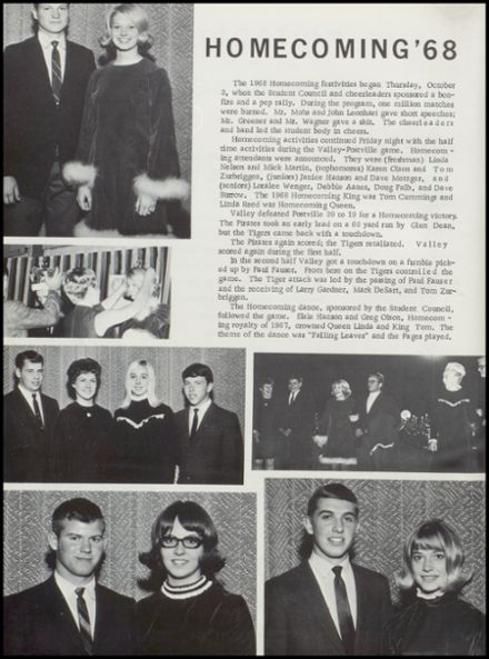 1969 Valley Community High School Yearbook Page 8