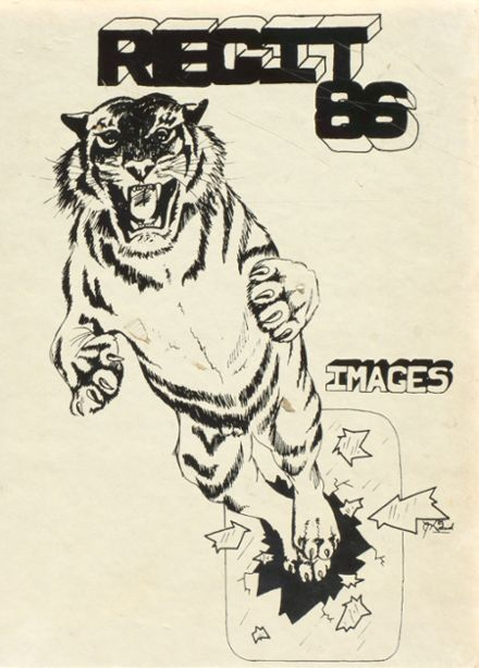 1986 South Plainfield High School Yearbook Cover