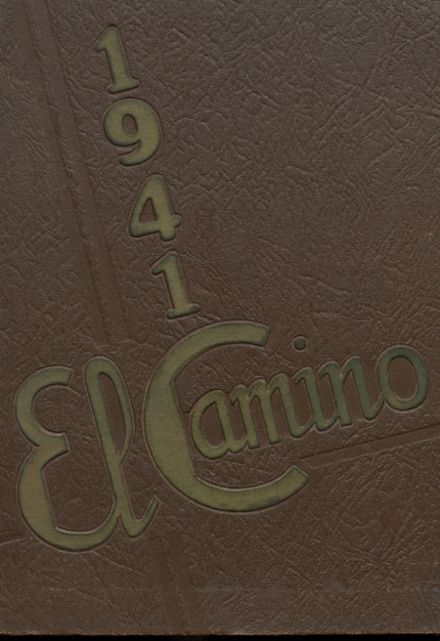 1941 Loyola High School Yearbook Cover