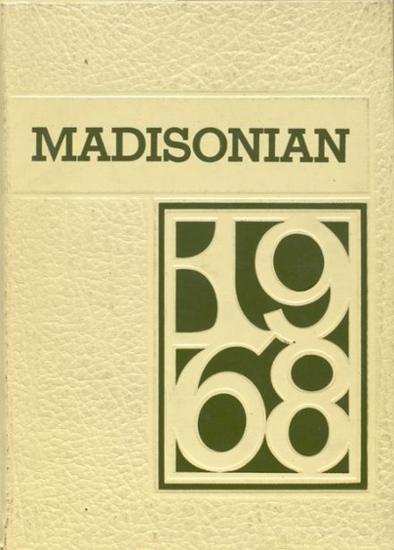 1968 Madison High School Yearbook Cover