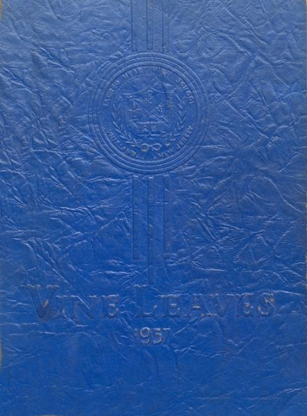 1957 Sacred Heart High School Yearbook Cover