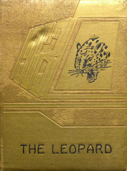 1963 Linn High School Yearbook Cover