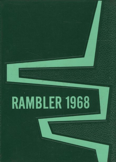 1968 Roseville High School Yearbook Cover