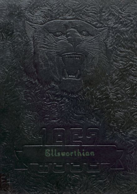 1952 Ellsworth High School Yearbook Cover