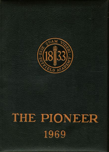 1969 Suffield Academy Yearbook Cover